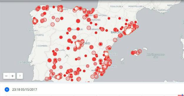 El mapa de la ciberseguridad en España en 2018