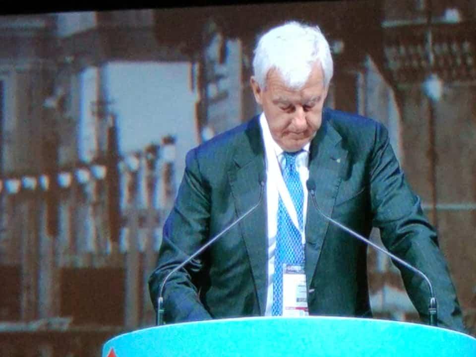 Alessandro Profumo, CEO de Leonardo